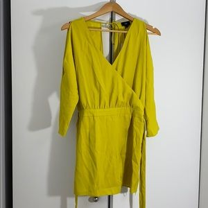ASOS yellow romper